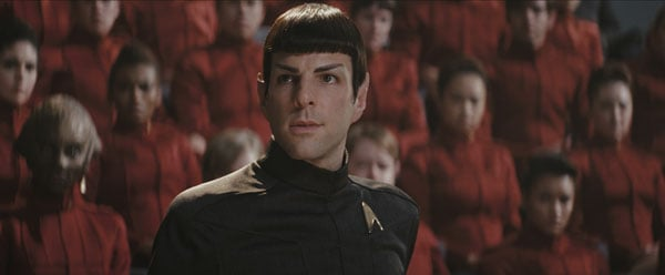 Zachary Quinto in Star Trek