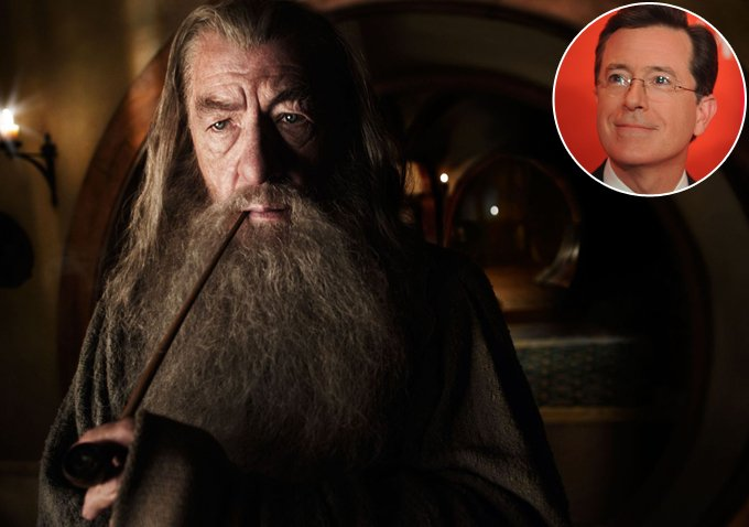 Stephen Colbert set to make an appearance in 'The Hobbit'