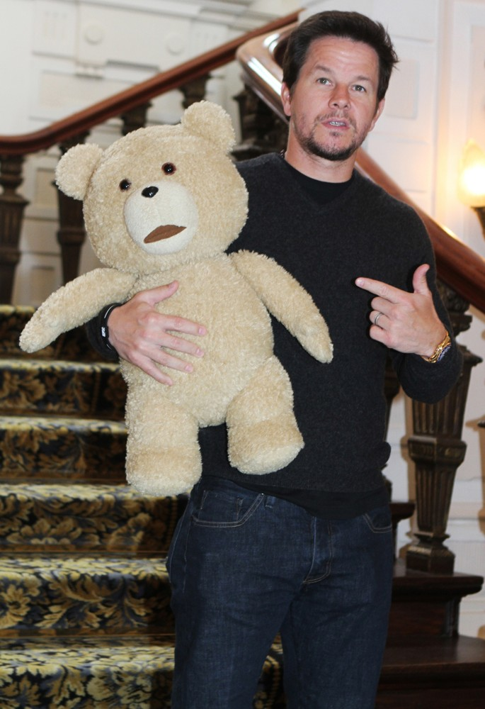 Ted and Mark Wahlberg
