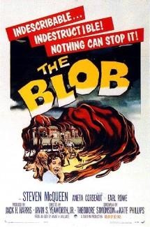 The Blob's 1958 movie poster