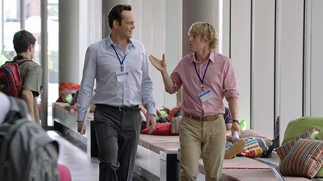 Vince Vaughn and Owen Wilson in 'The Internship'