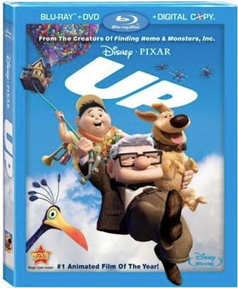 Up Special Features DVD and Blu-ray