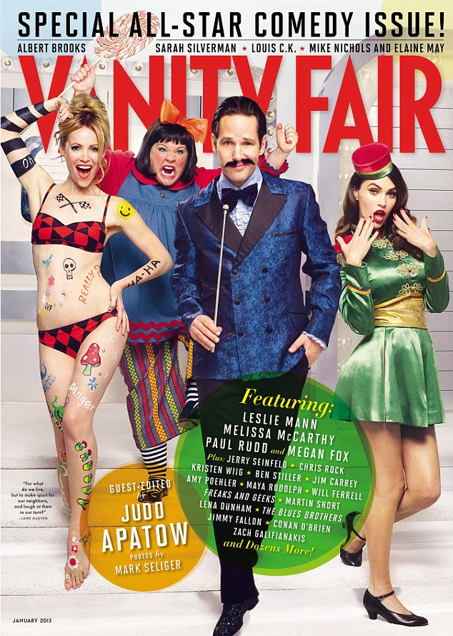 Judd Apatow guest edits 'Vanity Fair'