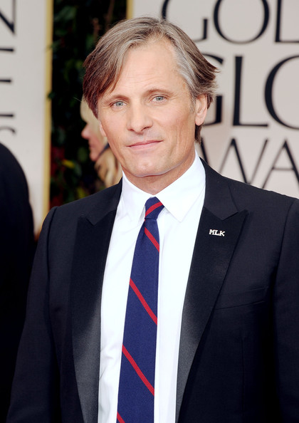 Viggo Mortensen at the Golden Globe Awards