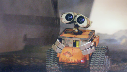 Wall-E extended clip aired on Disney channel