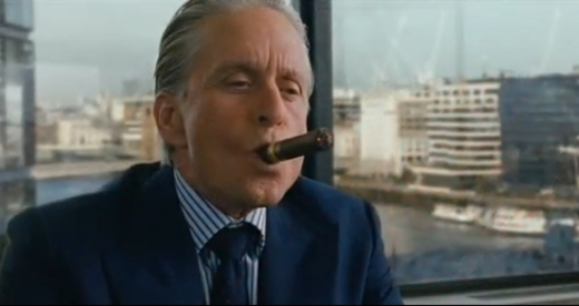Michael Douglas in Wall Street 2