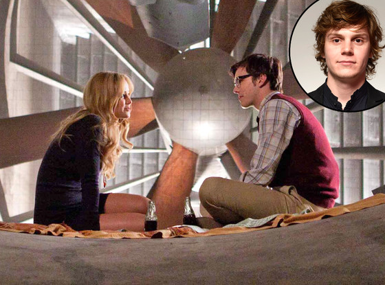 'X-Men: First Class' with Evan Peters inset