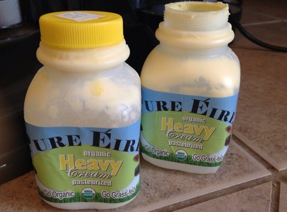 Pure Eire organic heavy cream