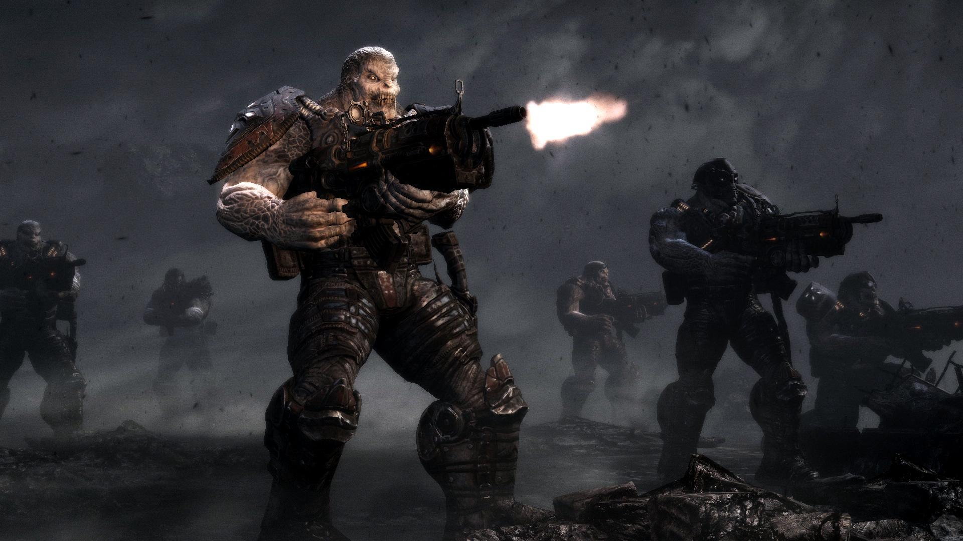 gears of war Kinect