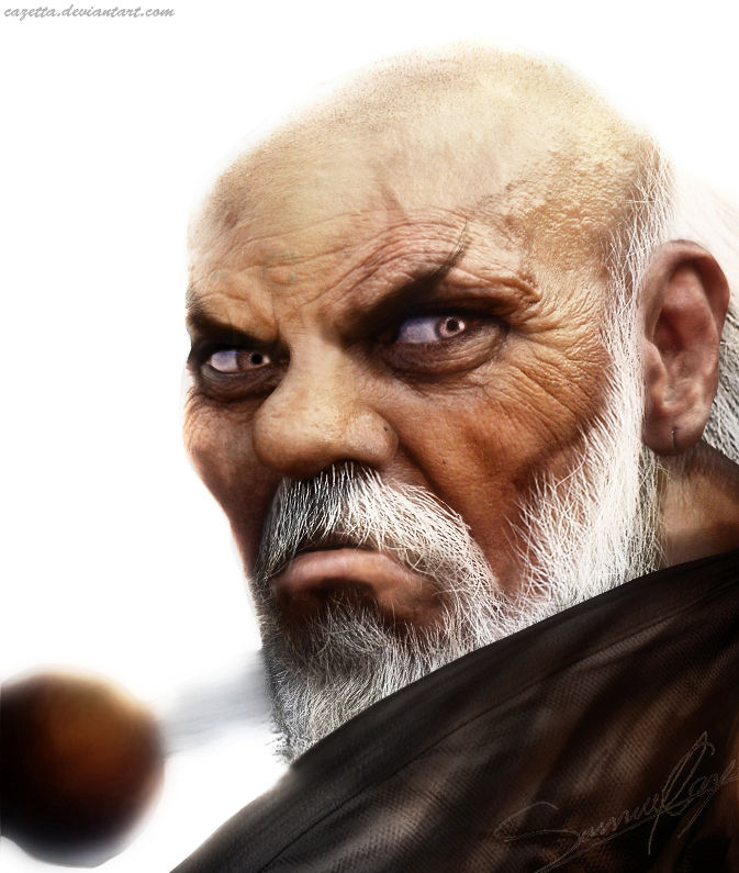 street fighter 4 realistic character art