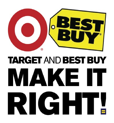 Best Buy and Target