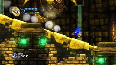 Sonic 4 labyrinth
