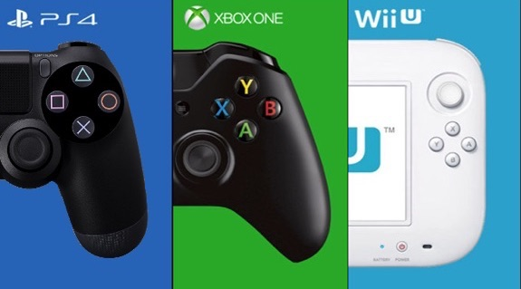 PS4 Xbox One Wii u games