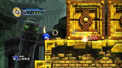 Sonic 4 mine cart