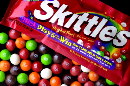 Kinectimals skittles