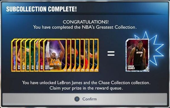 Diamond Lebron James unlock myteam