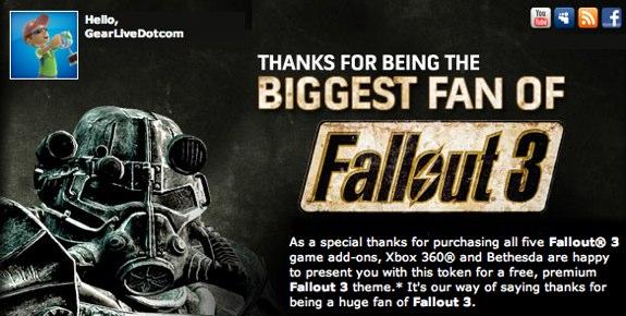 Free Fallout 3 Premium Theme