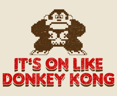 on like donkey kong nintendo