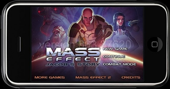 Mass Effect iPhone