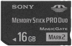 Sony Memory Stick Pro Duo