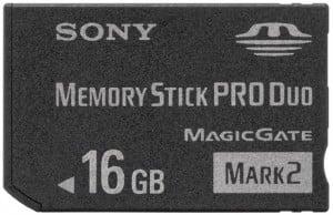 Sony Memory Stick Pro Duo