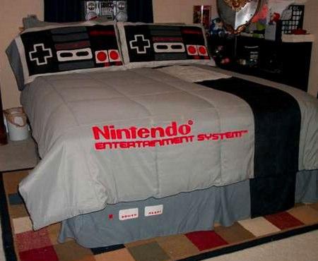Nintendo Bed Sheets