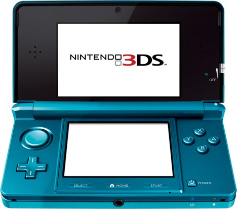 nintendo 3ds aqua blue cancelled