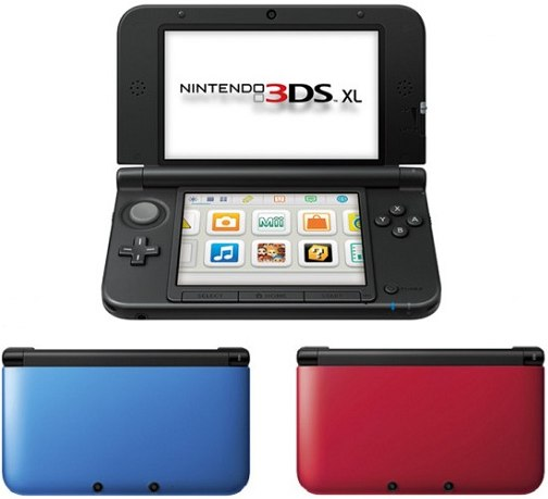 Nintendo 3DS XL giveaway