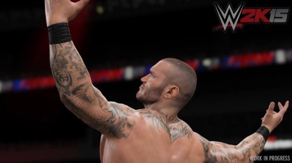 Randy Orton Pose WWE 2K15