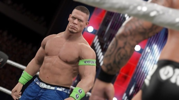 John Cena WWE 2K15 screenshot