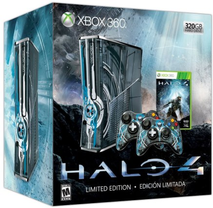 Halo 4 Xbox 360 limited edition pre-order