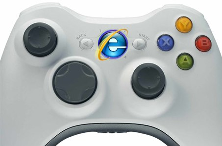 Internet Explorer for Xbox 360