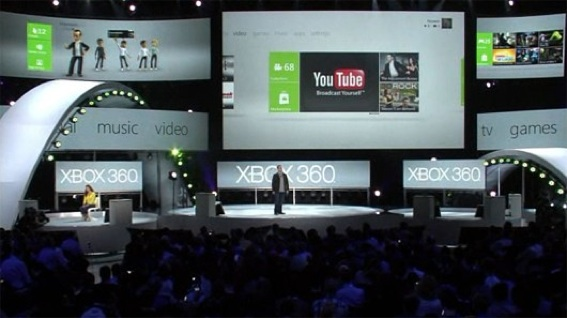 YouTube on Xbox 360