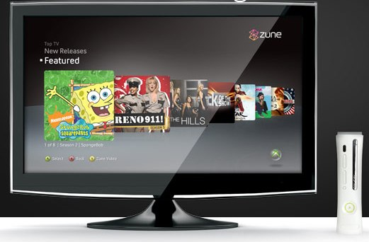 Zune 1080p Xbox 360