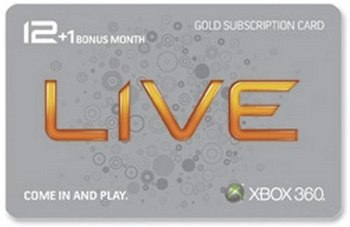 Xbox Live Gold discount