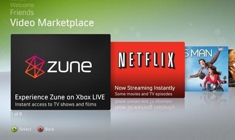 Xbox Zune Tile