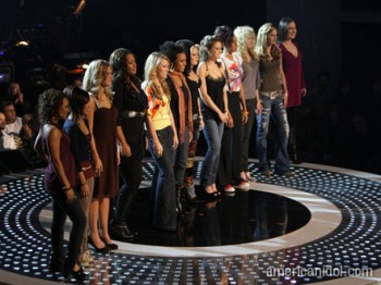 American Idol, Top 12 Women