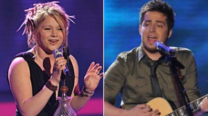 Crystal Bowersox, Lee DeWyze