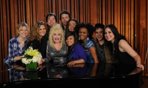 American Idol Top 9 and Dolly Parton