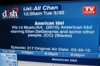 American Idol on Dish Network