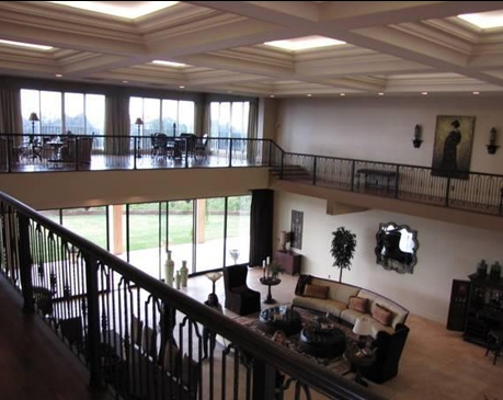 American Idol mansion interior upstairs
