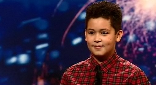 Shaheen Jafargholi from Britain's Got Talent