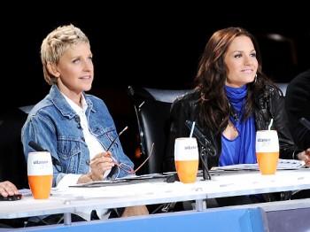 Kara DioGuardi, Ellen DeGeneres - American Idol