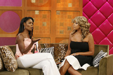 Omarosa and Wendy Williams