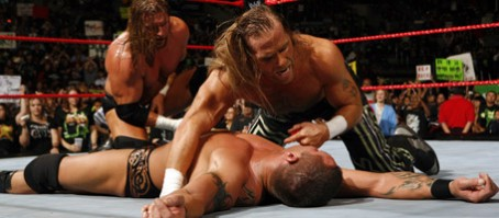 DX gets a leg up on Randy Orton