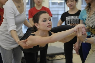 Secret Talents of the Stars, Sasha Cohen