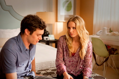 Adam Brody and Kristen Bell on 'House of Lies'