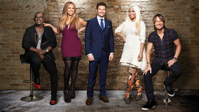 Current panelists and host of 'American Idol'