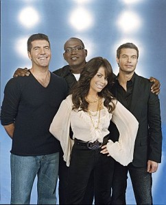 American Idol judges and host