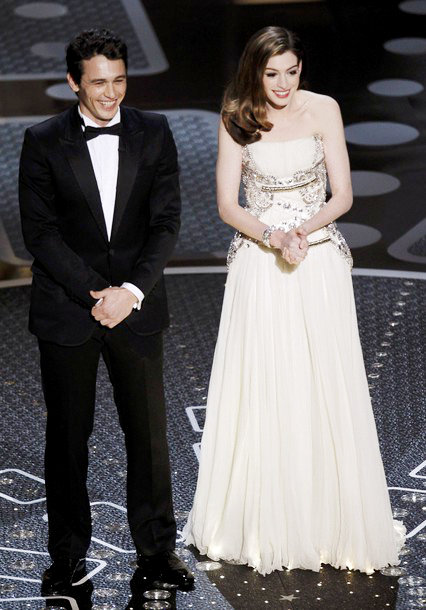 James Franco and Anne Hathaway Hosting 83rd Academy Awards